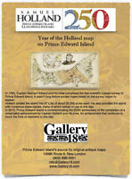 2015 -- Year of the Holland Map on Prince Edward Island