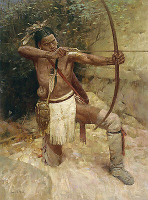Z. S. Liang WOODLAND WARRIOR Giclee Art Canvas - Woodland Warrior