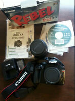 Reduced!!! Canon EOS T3 REBEL 1100D Camera and Kit $200