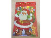 NEW Santa Advent Calendar and Badge