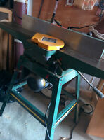 JOINTER 6IN. 1HP W/OPEN STAND CRAFTEX