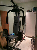 YORK 4180 FITNESS GYM SET FOR SALE IN GOOD CONDITION