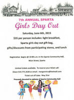 7TH ANNUAL SPARTA GIRLS' DAY OUT