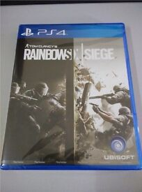 PS4 Rainbow six siege download code