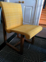 4 Teak Chairs/Chaises from the 70's