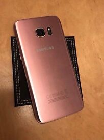 Samsung S7 edge Smart Phone Pink