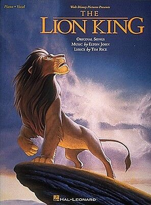 The Lion King Sheet Music Piano Vocal Guitar Songbook NEW 000312504 on Rummage