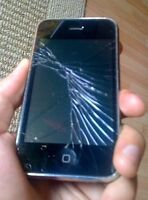 iPhone screen repair - Done today in 20 minutes! - 403-613-2013