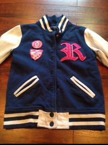 Roots Girls Varsity Jacket / Sweater  Medium (7/8)