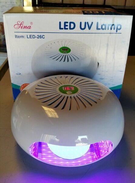 SINA LED 26C 12W LED UV Nail Polish Dryer Lamp Gel Acrylic Curing Light Lamps Health & Beauty