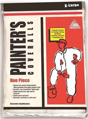 New Trimaco 09905 Size X-large Disposable One Piece Painters Coveralls 0666578