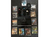 PS3 80gb with 11 games and more