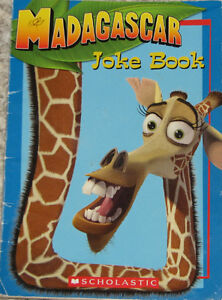 Madagascar Joke Book & 5 Toys (Lot # 3)
