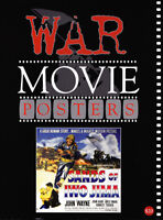 RARE WAR MOVIE POSTER/ART REFERENCE BOOK OUT OF PRINT