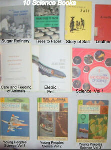 10 CHILDREN'S SCIENCE BOOKS