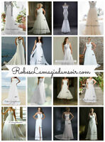 Tailles 2 4 6 8 10 12 14 16 18 20 robe blanche