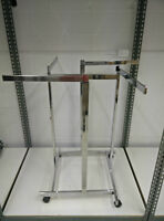 Chrome 4 way Clothing rack
