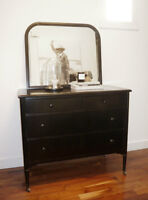 1930's Metal Dresser & Mirror - Simmons Limited