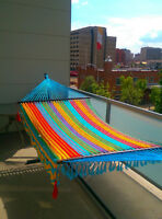 SALE Hammocks from Colombia y Mexico WEEKENDS- Whyte Ave  104st
