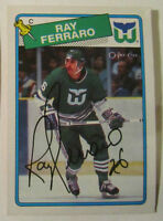 Hockey Cards - Hand Signed - Three former NHL stars