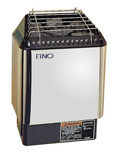 NEW 2013 FINO 6 kW SAUNA HEATER INCL. DIGITAL CONTROL