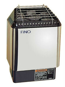 NEW 2016 FINO 6 kW SAUNA HEATER INCL. DIGITAL CONTROL