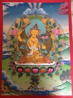 "Thangka Painting from Nepal - approx. 18.5""x25"""