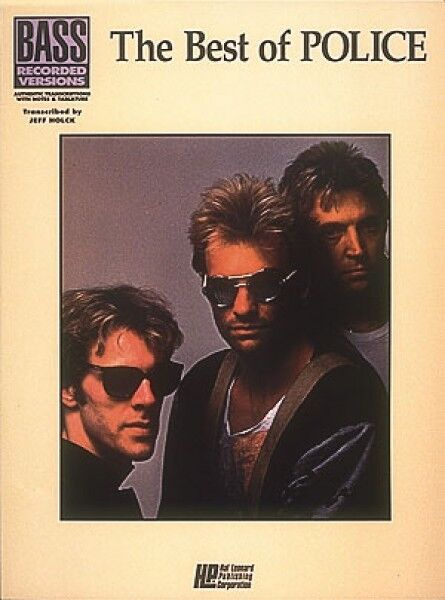 The Best of The Police Sheet Music Bass Recorded Versions NEW 000660207