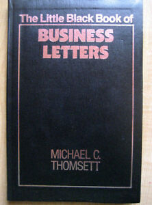 The Little Black Book of Business Letters London Ontario image 1