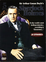 Sherlock Holmes Collector's Edition (5 DVDs, 20 Episodes)
