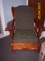 3 Antique Maple Wing Back Chairs $200 each