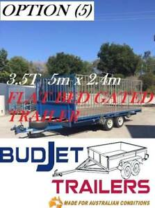 TRAILER HIRE BRISBANE 3.5T 5M FLAT DECK TRAILER $90 P/D THIS AD IS FOR