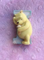 Winnie the Pooh Letter I Ceramic Decoration