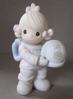 Enesco's Precious Moments Astronaut Figurine Dated 1991 Peterborough Peterborough Area Preview
