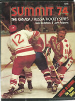 SUMMIT 74 THE CANADA- RUSSIA HOCKEY SERIES BOOK-- Rare!!