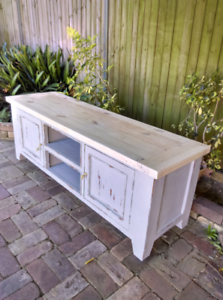 TV Entertainment Units Cabinets Shabby Chic Upcycled Furniture