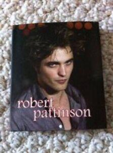 MINI ROBERT PATTINSON BOOK, NEW!