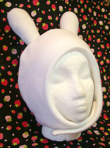 Fionna Adventure Time Bunny Hat Fleece Cosplay Fiona Costume Hood