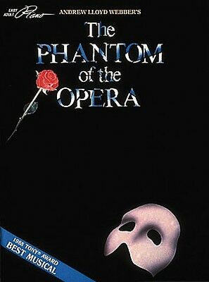 Phantom of the Opera Sheet Music Easy Adult Piano NEW 000001632