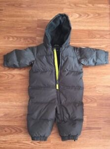 Winter clothes for baby and carrier $20 each