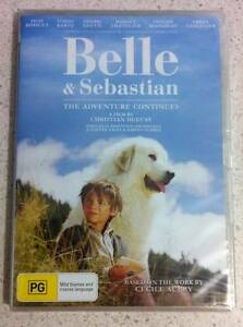Belle & Sebastian: The Adventure Continues DVD - sealed Carindale Brisbane South East Preview