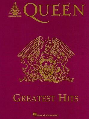 Queen Greatest Hits Sheet Music Guitar Tablature NEW 000694975
