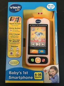 Vtech baby's first smartphone