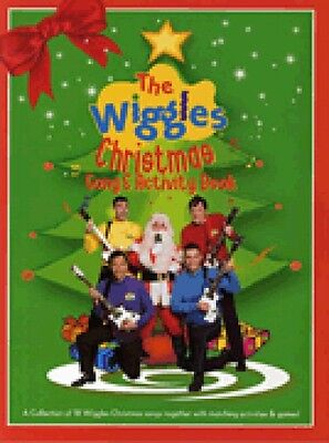 The Wiggles Christmas Song & Activity Book Sheet Music NEW 014036064 - Christmas Activity Sheets