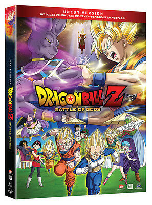 Dragon Ball Z Battle Of The Gods DVD (Uncut Edition Version)