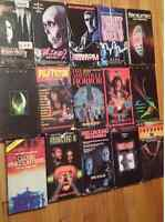 15 Horror/sci-fi VHS tapes