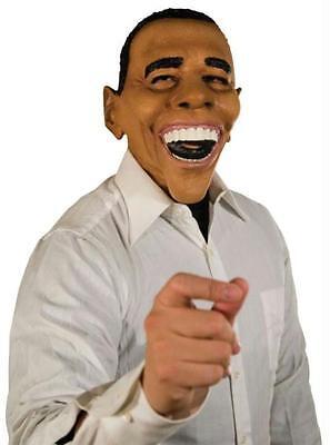 President Obama Halloween Costume (PRESIDENT OBAMA LATEX MASK POLITICAL COSTUME NEW MR035081)