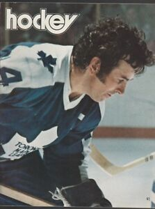 Maple Leaf Gardens Hockey Magazine Dave Keon featured on cover