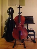 Violoncello Kit & Studio Set 4/4 Adult (Previously Owned)