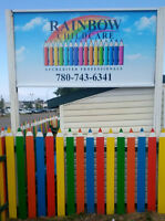 CHILD CARE SPACES AVAILABLE - RAINBOW CHILD CARE